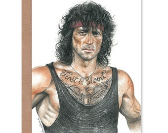 Wayne Maguire Tattooed Bill The Butcher Inked Ikon Large Framed Poster Print