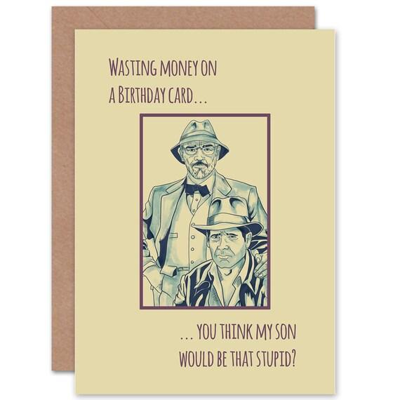 Dad Birthday Card Funny Happy Dr Jones Blank
