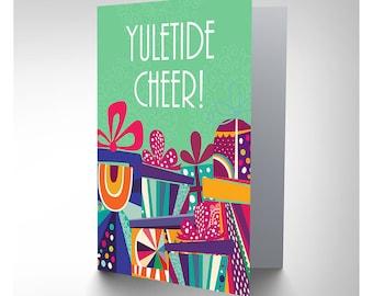 Yuletide Cheer / Christmas Card / Presents - CP3146