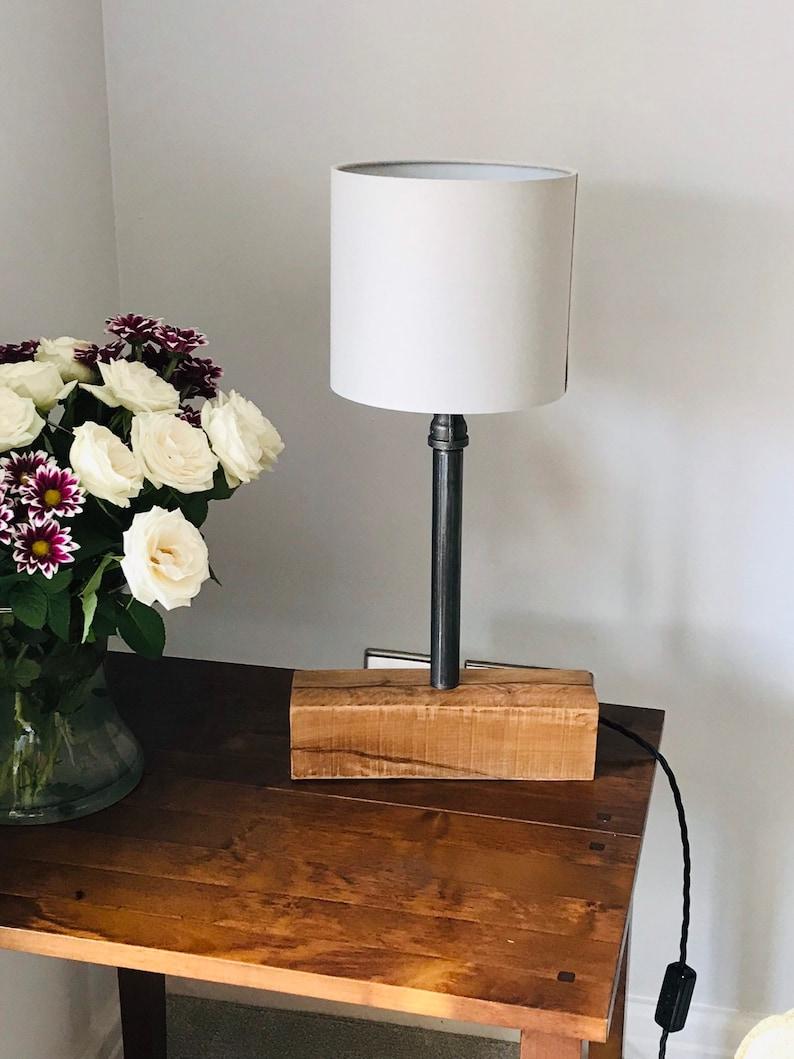 Table Lamp Minimalist Scandi Style Simplistic Crisp Smart Table Lamp Lounge Bedroom Living Areas Smart Clean Lines