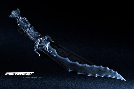 Serrated Death Kukri From Assassins Creed Syndicate Etsy