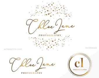 Logo design/ business logo/ photography logo/ branding package/ custom design/ watercolor logo/ watermark logo/ premade logo/ graphic design