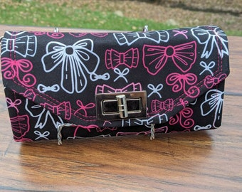 Mickey mouse, minnie mouse, bows, girly, wallet, wristlet