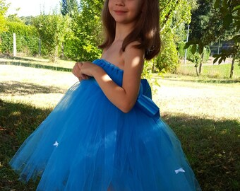 sale 33 40 euros. 3-5 years old turquoise tutu dress little prices-handmade, cheap baby tutu dress tutu dress