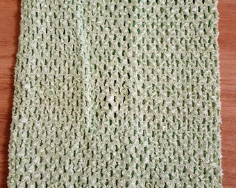 STRAPLESS stretch 2-6 years Mint crochet for creating girl tutu dress