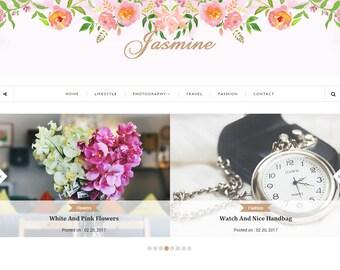 SALE! Blogger Responsive Template - Jasmine