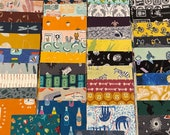 I Spy 5 quot Novelty Boy Prints 50pc. Fussy Cut Charm Pack Designer 39 s 100 Cotton Quilting Fabric Squares