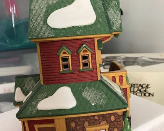 North Pole Series Dept. 56 Santa's Rooming House