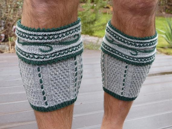 Traditional Bavarian calf socks –