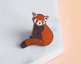 Red Panda Enamel Pin
