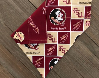 de67844878919 Florida State University Seminoles Reversible Bandana