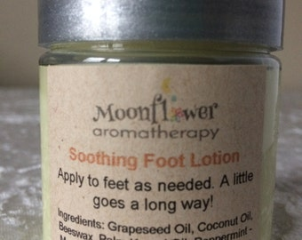 Soothing Foot Lotion - With Peppermint and Tea Tree