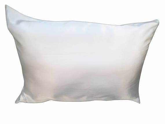 100 Mulberry Silk Pillowcase With Hidden Zipper Ivory