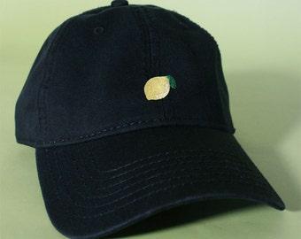 NEW Lemon Baseball Hat Dad Hat Low Profile White Pink Black Casquette  Embroidered Unisex Adjustable Strap Back Baseball Cap 2274a2e92b6b