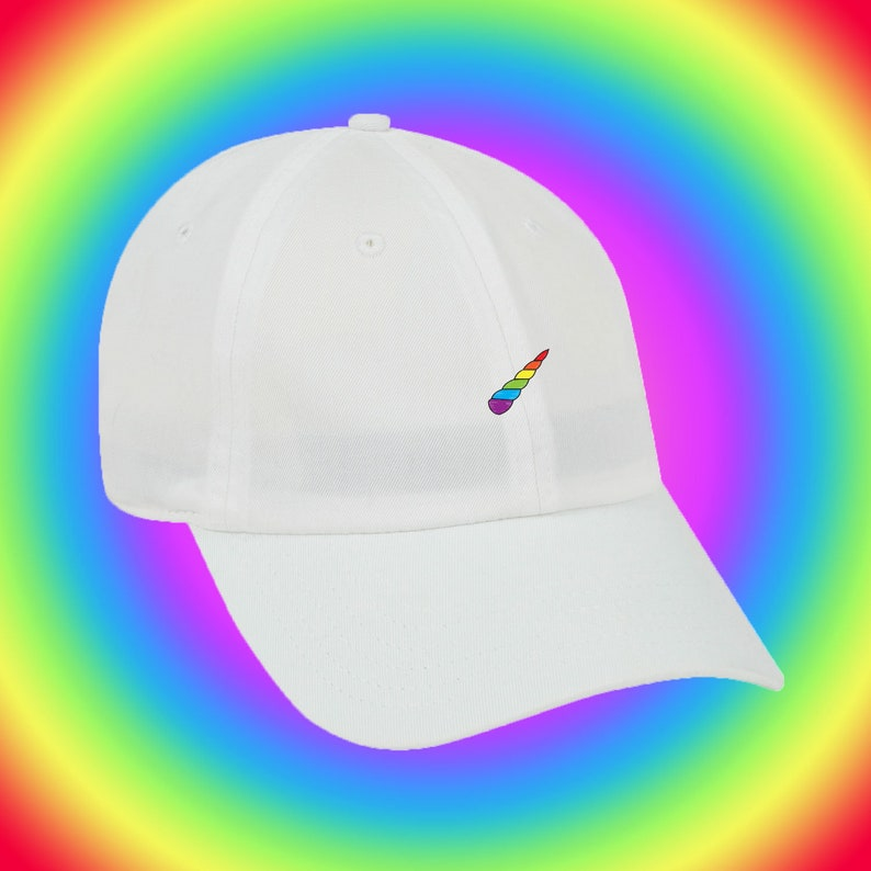 NEW Unicorn Horn Emoji Baseball Hat Dad Hat Low Profile Hang  90995fc831f8