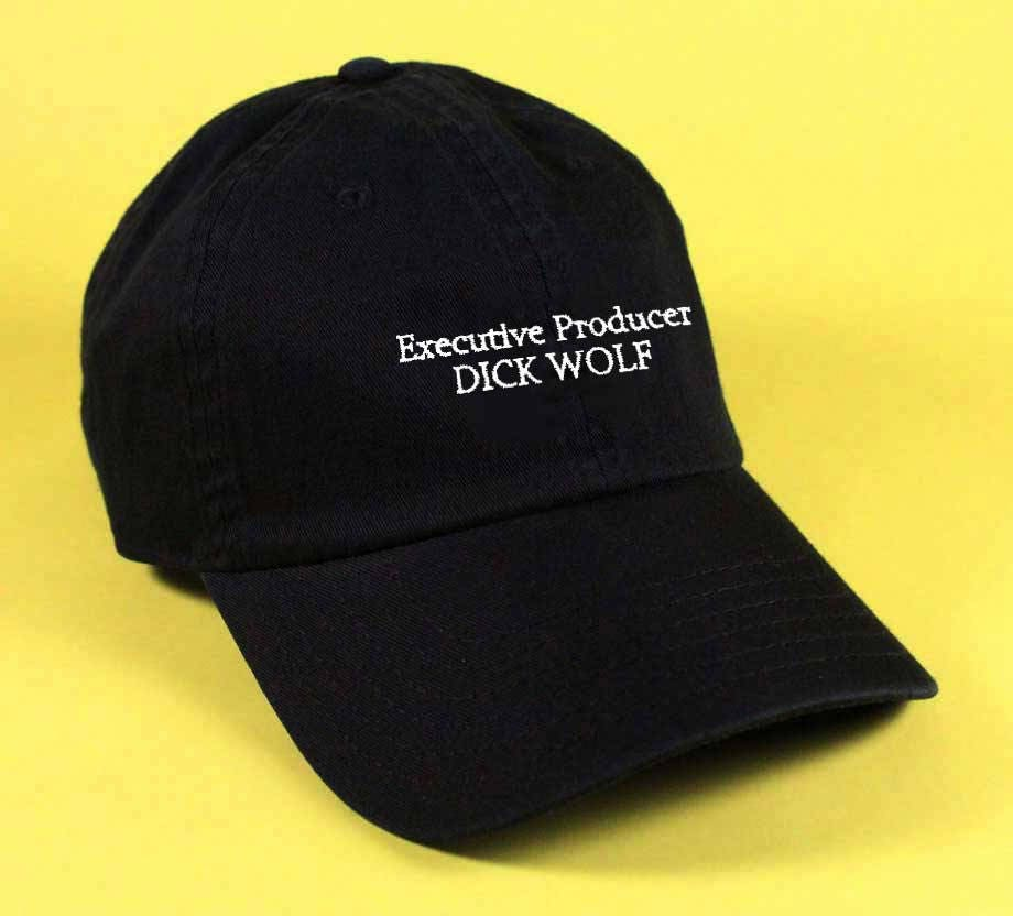 New Executive Producer DICK WOLF Baseball Hat Dad Hat White  fedac658c65