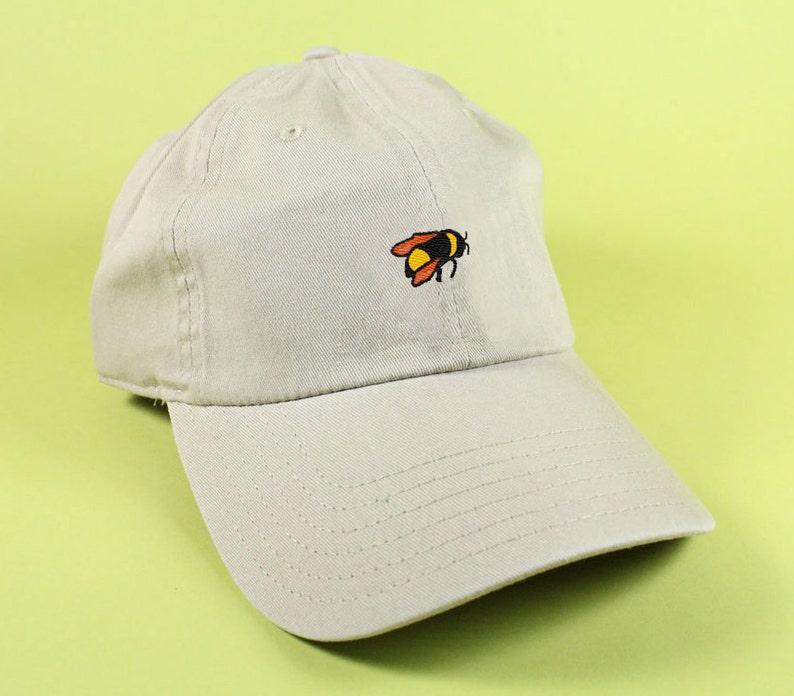 1e1a010d6e0c7 Bumble Bee emoji Baseball Hat Dad Hat Low Profile Hang Loose