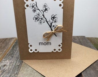 Mother's Day Card, Rustic Mother's Day Card, Mom Card, Card for Mom, Card for Her, Mom's Day Card, Mother's Day