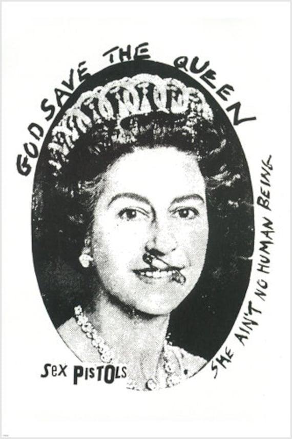 The queen sex pistols poster