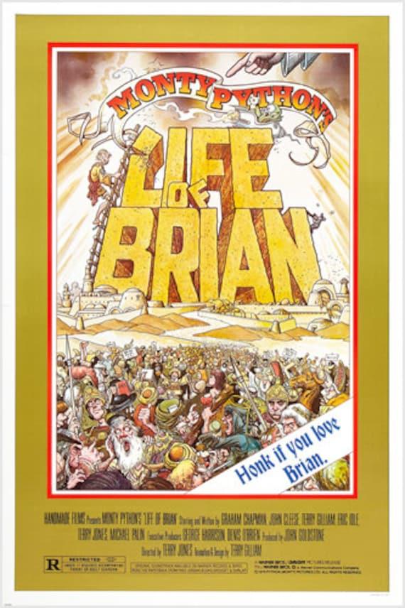 Life of Brian Monty Python Movie Premium METAL Poster Art Print Plaque Gift