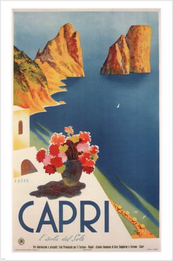Lake Louise Vintage Travel Art Print Poster 24x36 inch