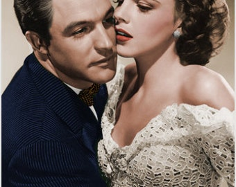 High Quality Gene Kelly Judy Garland Publicity Still Poster Lovely New 24x36