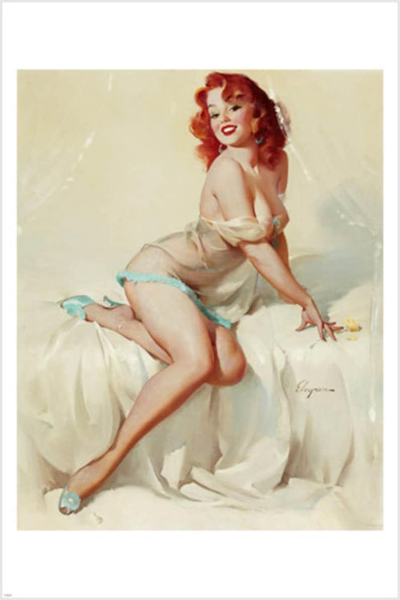 cf164d111 1958 Darlene Sexy Girl Bedside Manner Poster 24x36 Redhead