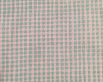 Tiny Light Green Gingham