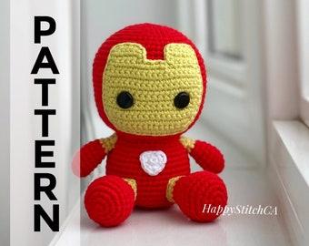 Amigurumi Crochet Iron Man Pattern - Others - doitory - doitory | 270x340