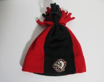 Vintage Buffalo Sabres Fleece Beanie Winter Hat 50b55b7e710c