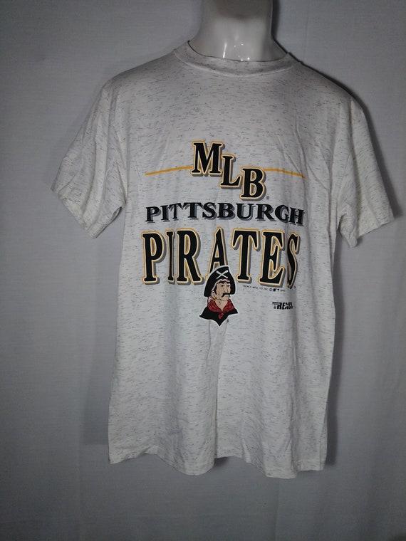 newest collection 6b0cc c4de2 Vintage 1992 Pittsburgh Pirates T-Shirt Tshirt Tee