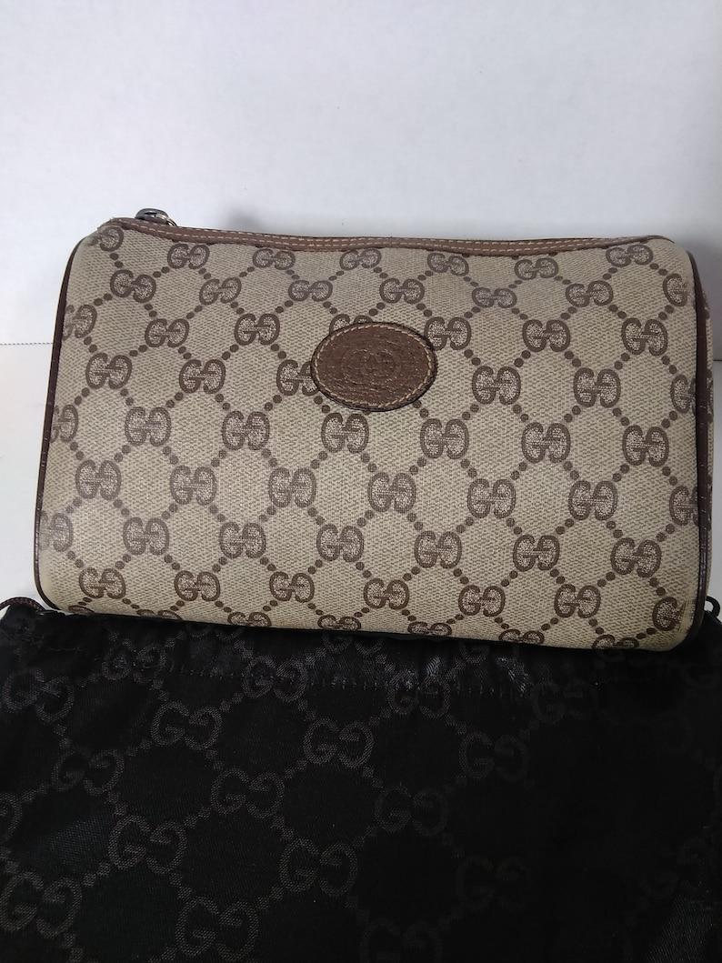 0f9263a1d5d475 Authentic Vintage 90's Gucci Clutch Bag Handbag Purse | Etsy