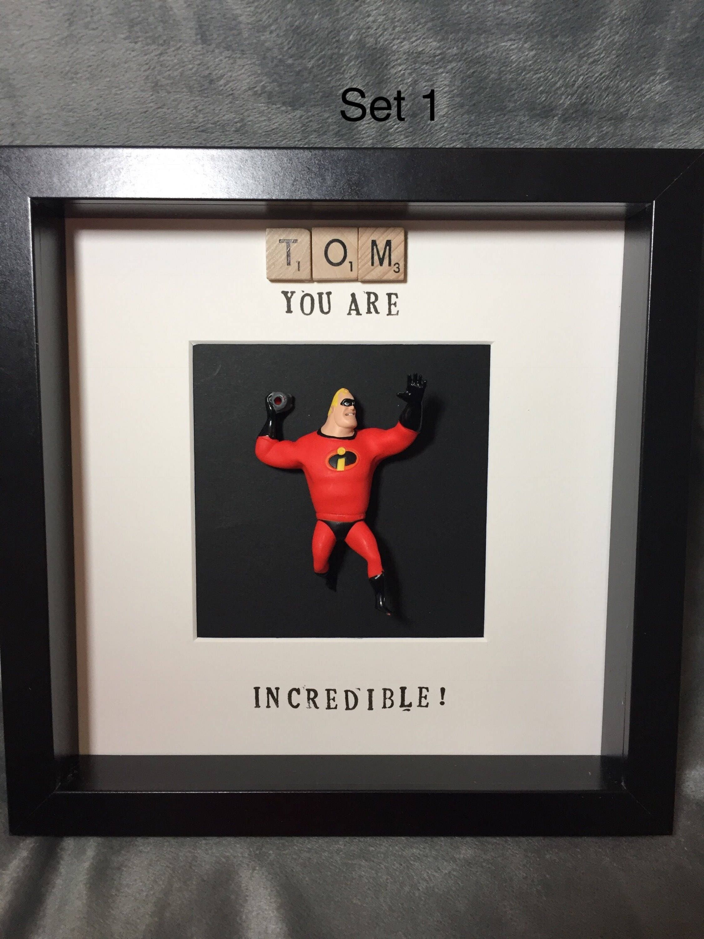 Personalisierte Held Mr. Incredible Frame-Superhero Frame | Etsy