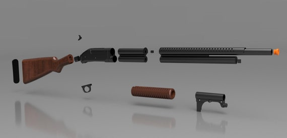 3D Print File - Call of Duty Winchester 1897 Trench Gun