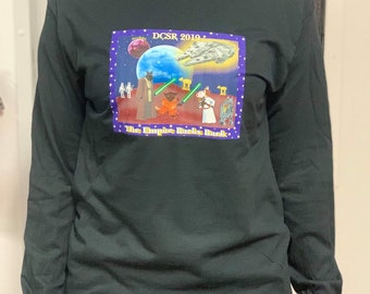 Free Domestic Shipping: LONG SLEEVE Empire Barks Back  T-Shirt