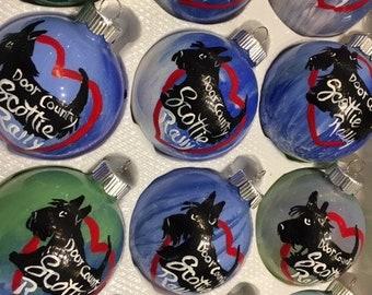 Door County SCOTTIE RALLY Ornament
