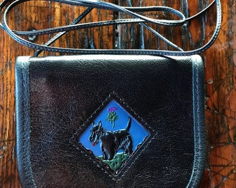 Hand-crafted Leather SCOTTIE  WALLET Purse