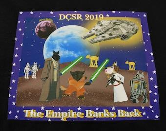FREE DOMESTIC SHIP-Short Sleeve Empire Barks Back Scottie T-Shirt
