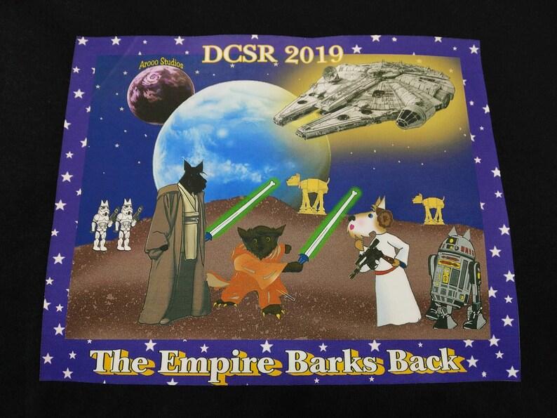 FREE DOMESTIC SHIP-Short Sleeve Empire Barks Back Scottie image 0