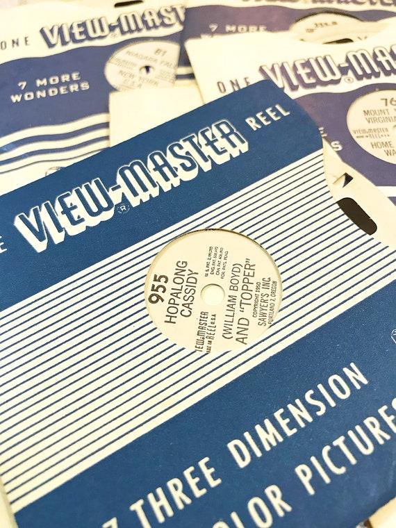 Vintage Viewmaster Reels. Random View-Master Reels. 5