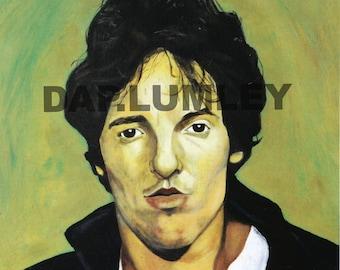 BRUCE SPRINGSTEEN-Original acrylic painting