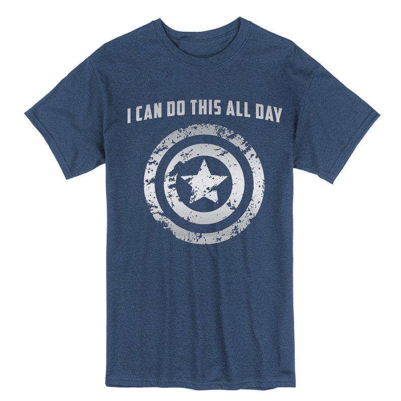 ea674e9a Adult Captain America: I Can Do This All Day Unisex shirt   Etsy