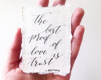 custom calligraphy for wedding vows anniversary gift poem etsy