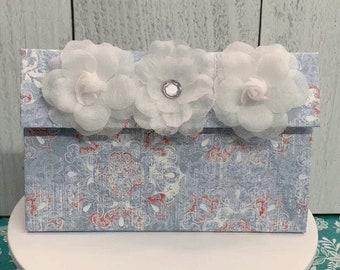 Handmade PaperChip Board Clutch Purse  Gift Bag