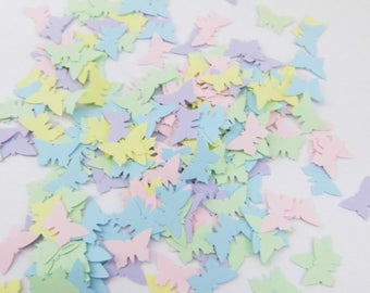 Confetti Butterflies Pastel set 4 butterfly confetti Pastel paper confetti butterfly confetti Table Decorations Wedding
