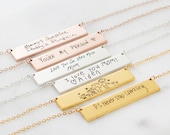 Handwriting Jewelry • Engraved Actual Handwriting Necklace • Keepsake Necklace • Custom Signature Jewelry • Personalized Gift for Her • NM22 photo