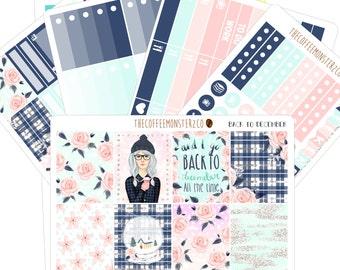 Back 2 December Full kit (erin condren stickers)