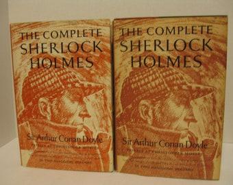 The Complete Sherlock Holmes - Sir Arthur Conan Doyle 2 Volume Set