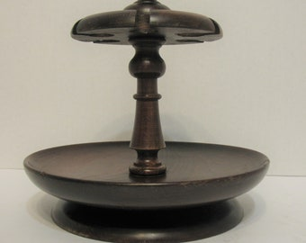 Vintage Carl Forslund Quaint Furniture American Smoking Pipe Stand