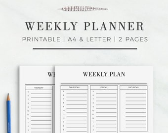 cleaning organizer printable cleaning plan cleaning etsy